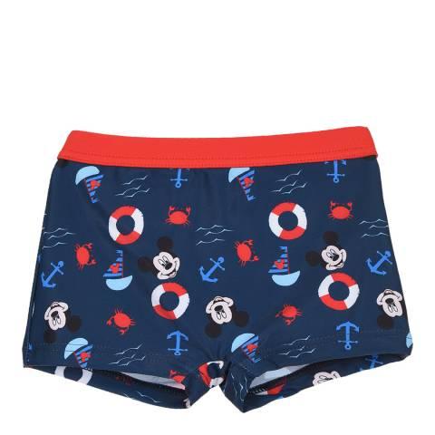 Disney Navy Mickey Mouse Swim Shorts