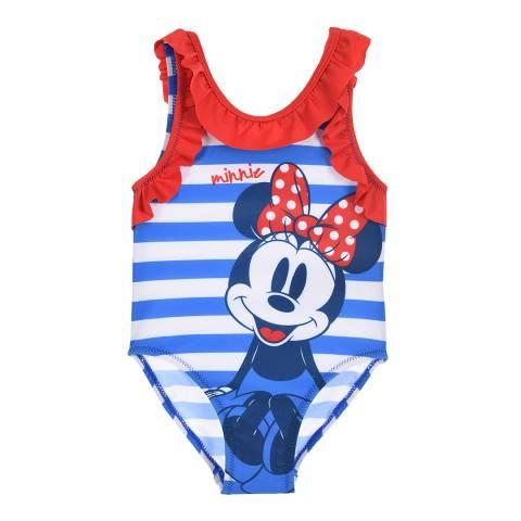 Disney Blue Sailor Minnie Mouse Swimsuit