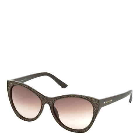 SWAROVSKI Women's Brown Sunglasses 59mm