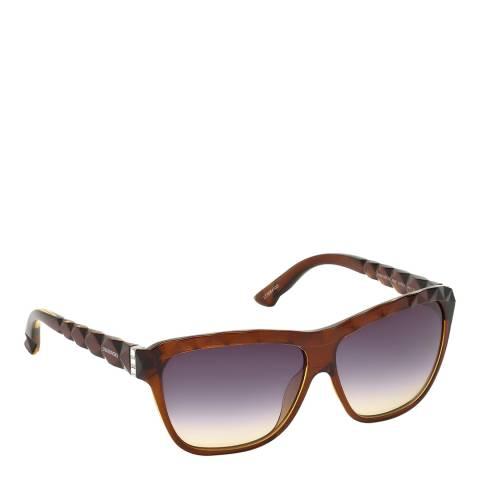 SWAROVSKI Women's Brown Sunglasses 62mm