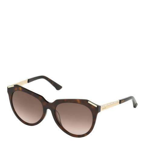 SWAROVSKI Women's Tortoiseshell Sunglasses 56mm