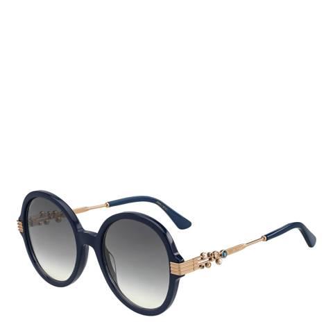 Jimmy Choo Women's Navy Blue Jimmy Choo Sunglasses 55mm