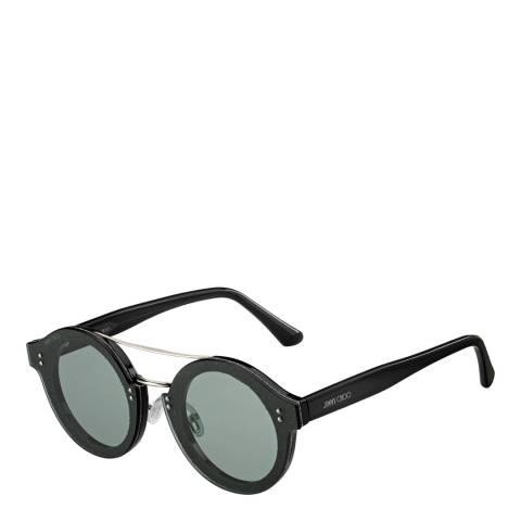 Jimmy Choo Women's Black/Dark Grey Jimmy Choo Sunglasses 64mm