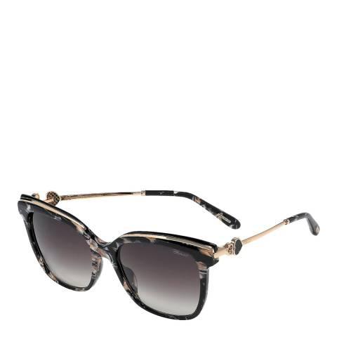 Chopard Women's Black Rose Sunglasses 57mm