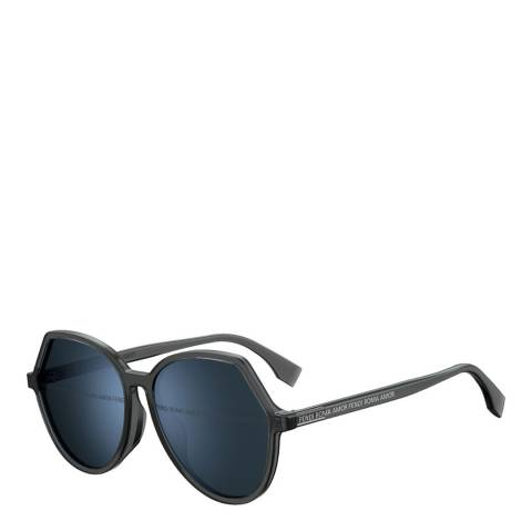 Fendi Women's Grey Fendi Sunglasses 59mm