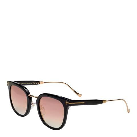 Tom Ford Women's Black/Gold Tom Ford Sunglasses 53mm