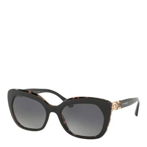 Bvlgari Women's Black Sunglasses 55mm