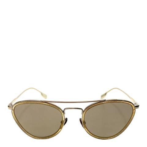 Burberry Women's Gold Sunglasses 51mm