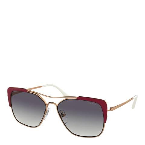 Prada Women's Gold Sunglasses 58mm
