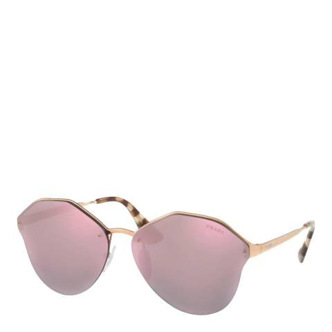Prada Women's Gold Sunglasses 66mm