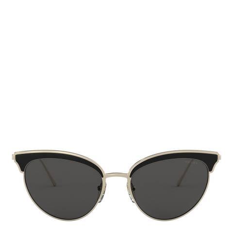 Prada Women's Gold Sunglasses 54mm