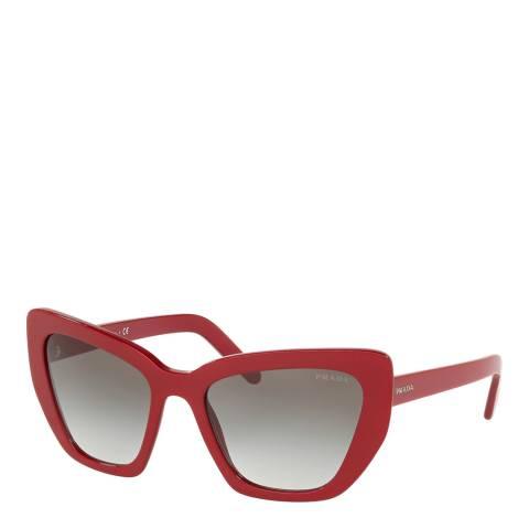 Prada Women's Red Sunglasses 55mm