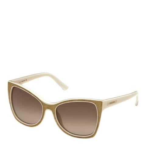 SWAROVSKI Women's White Sunglasses 56mm