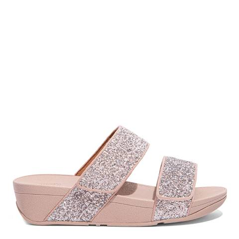 FitFlop Coral Pink Mina Glitter Mix Sandals
