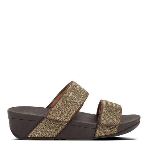 FitFlop Bronze Mina Glitter Weve Sandals