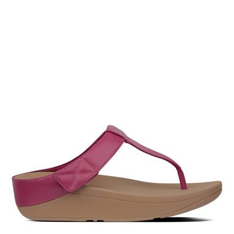 FitFlop Fuchsia Mina Toe-Post Sandals