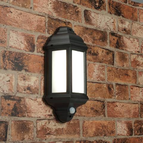 Saxby Halbury PIR Wall Outdoor Light