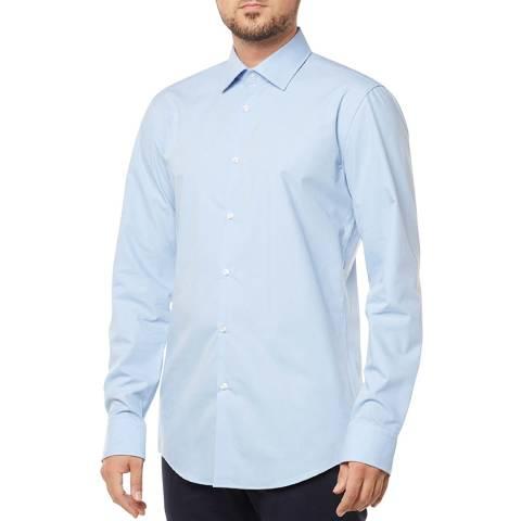 HUGO Blue Kenno Cotton Shirt