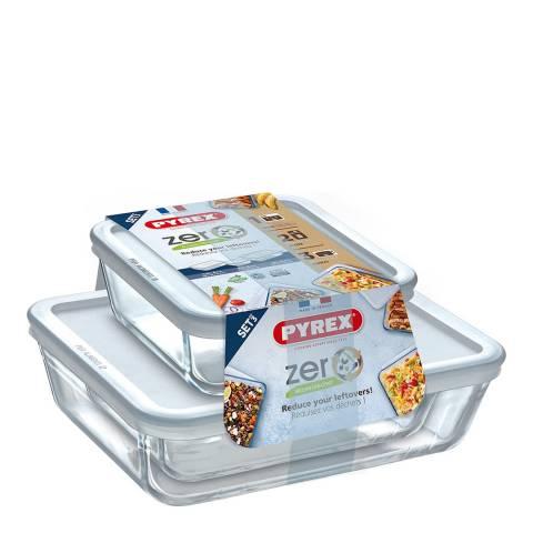 Pyrex Cook & Freeze Zero Waste Storage Set