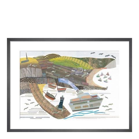 Jane Robbins Newhaven II 36cmx28cm