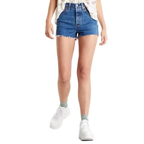Levi's Blue Ribcage Charleston Shorts