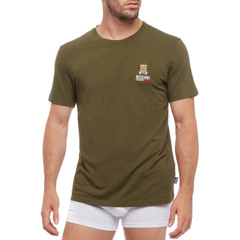 Moschino Green Logo T-Shirt