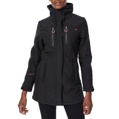 Geographical Norway Black Softshell Jacket