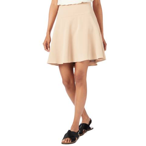 Theory Pink Flared Skirt