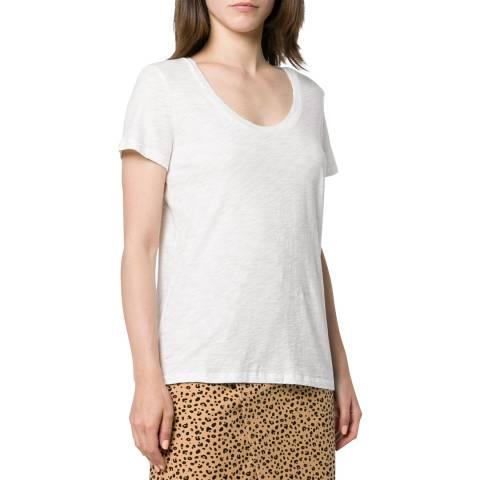 Theory White Easy Cotton T-Shirt