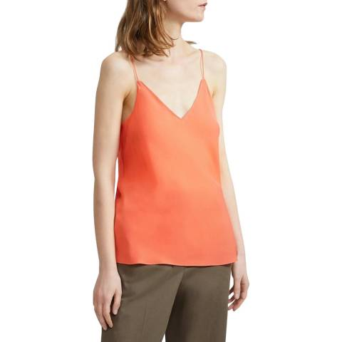 Theory Pink Silk  Top
