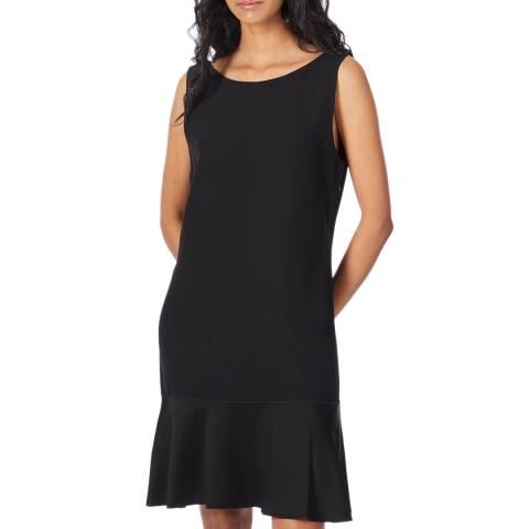 Theory Black Flirty Flare Dress
