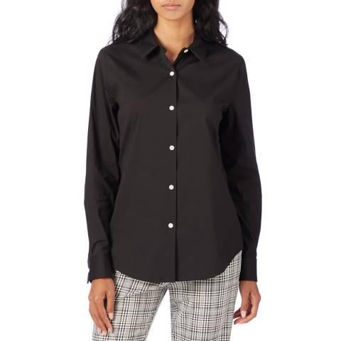 Theory Black Tenia Luxe Shirt