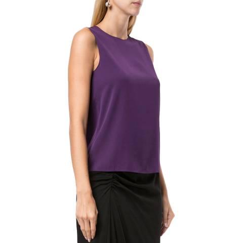 Theory Purple Straight Shell Core Vest
