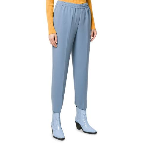 Theory Blue Classic Easy Fit Trousers