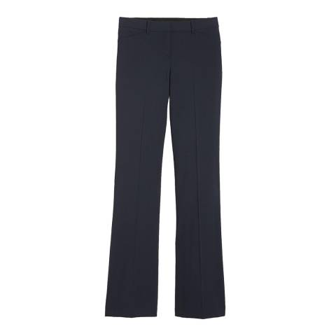 Theory Navy Slim Fit Custom Max 2 Trousers
