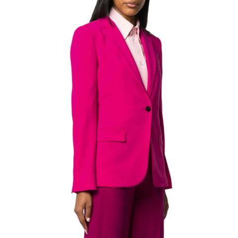 Theory Pink Staple Blazer