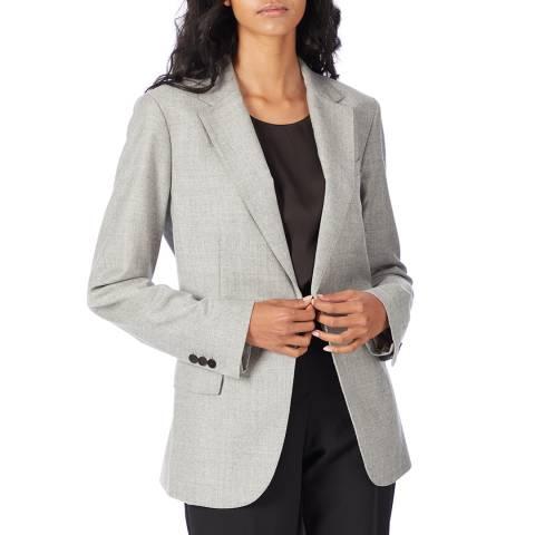 Theory Grey Wool Staple Blazer