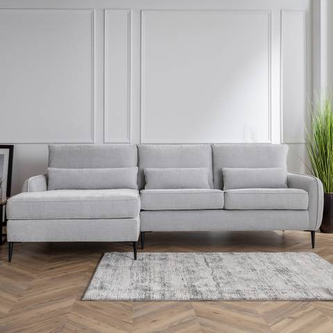 Cozey The Jefferson Large Left Hand Chaise Manhattan Ice