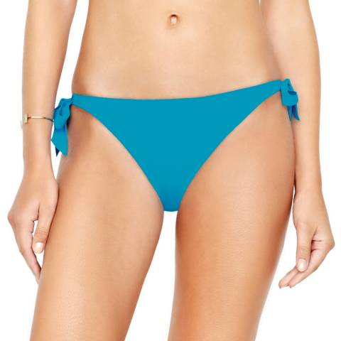 Gottex Turquoise Au Naturel Side Tie Bikini Bottom