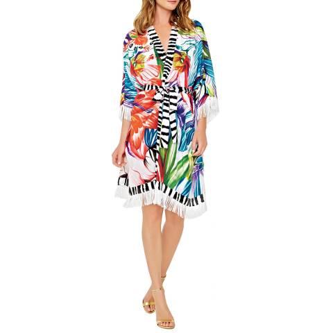 Gottex Multi Open Kimono With Belt