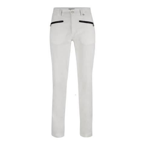 GOLFINO White 7/8 Trouser