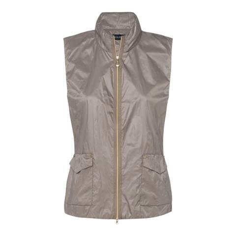 GOLFINO Taupe Double Layer Waistcoat