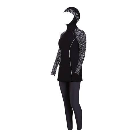 Zoggs Black/Multi Sacred Craft Modesty Suit