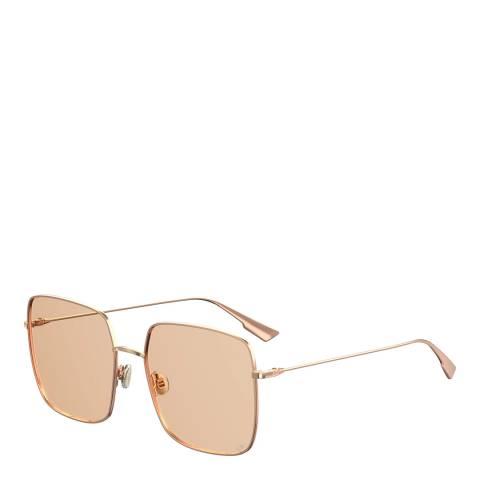 Dior Women's Peach/Gold Dior Sunglasses 59mm