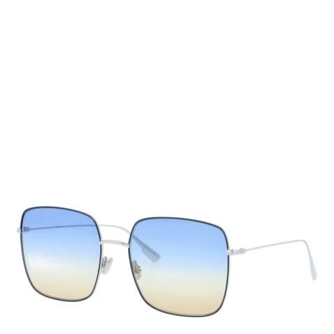 Dior Women's Blue/Gold Dior Sunglasses 59mm