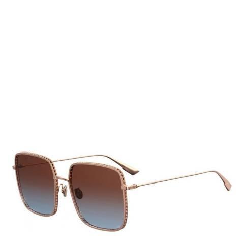 Dior Women's Pink/Gold Dior Sunglasses 59mm