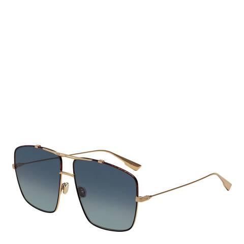 Dior Women's Grey/Gold Dior Sunglasses 64mm