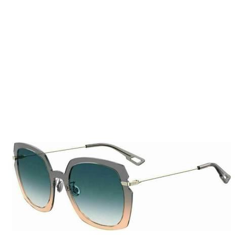 Dior Women's Grey/Pink Dior Sunglasses 56mm