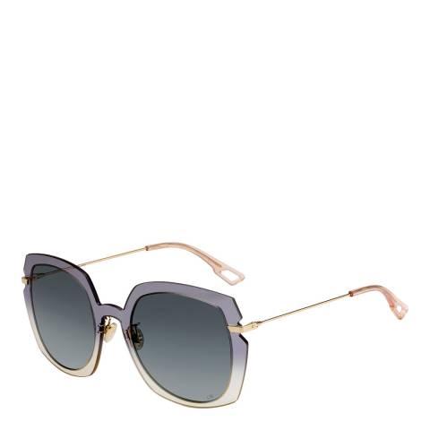 Dior Women's Grey/Gold Dior Sunglasses 56mm