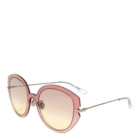 Dior Women's Pink/Gold Dior Sunglasses 55mm